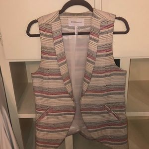BCBG Striped Blazer